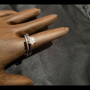Vintage AVON engagement/wedding ring